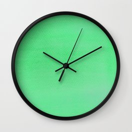 Hand painted DW-M Green color Wall Clock
