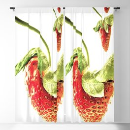 Strawberry Trio Blackout Curtain