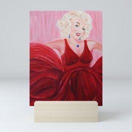 Dazzling Marilyne   Éblouissante Marilyne Mini Art Print