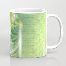 The green Brain Coffee Mug