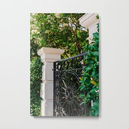 Charleston Architecture LIX Metal Print
