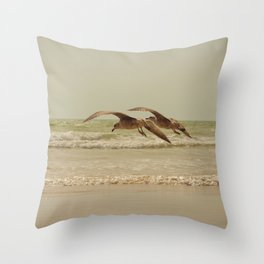 Parallel Throw Pillow
