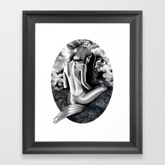 Sailors Beware Framed Art Print