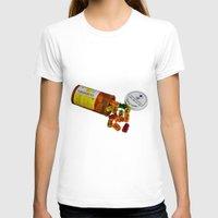 pills T-shirts featuring Sugar Pills by Beastie Toyz