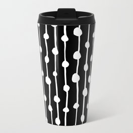 White & Black Travel Mug