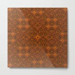 Just a Pattern Metal Print