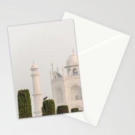 Bird at the Taj Stationery Cards