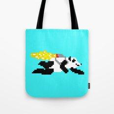 jetpack panda. Tote Bag