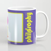 philosophy Mugs featuring [UN] DISCIPLINE: PHILOSOPHY by THEK'art