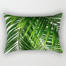 Palm Leaves #3 Rectangular Pillow