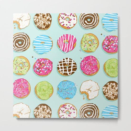 Sweet donuts Metal Print