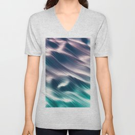 Neon Dreams Unisex V-Neck