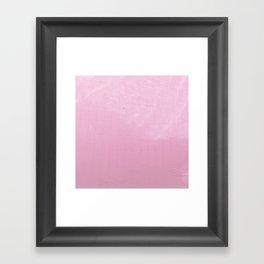 Pink Water II Framed Art Print