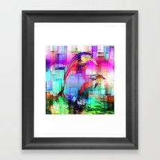 Dolphins Tim Henderson Framed Art Print