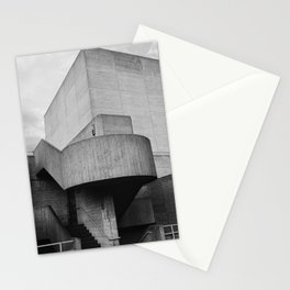 National Theatre | London United Kingdom by Sir Denys Lasdun Architect Stationery Cards