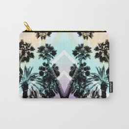 Palm tree print Carry-All Pouch