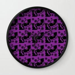 Cats & Bats Wall Clock