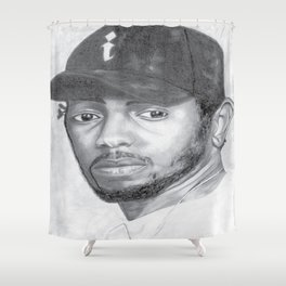 Kendrick Lamar Shower Curtain