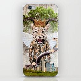Hear me · roar iPhone Skin