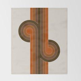 Cocoa Knots Throw Blanket
