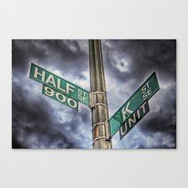 R.I.P. Nation Nightclub - Half & K Streets Canvas Print