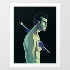Derek Hale Art Print