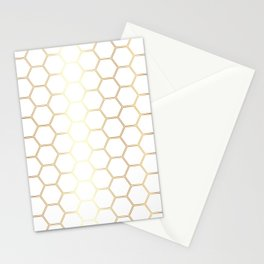 Honeycomb - Gold #170 Stationery Cards