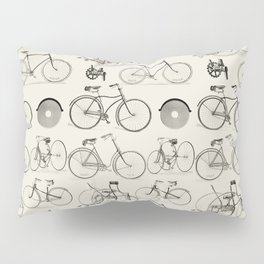 Vintage Bicycles Pillow Sham