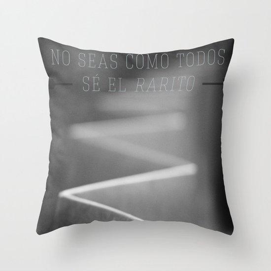 Weirdo. Throw Pillow
