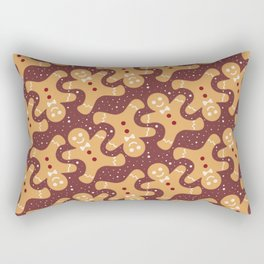 Ginger Bread Men Rectangular Pillow