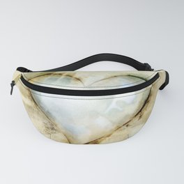 Love Unfolding No.26A by Kathy Morton Stanion Fanny Pack