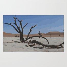 Deadvlei - Namibia Rug