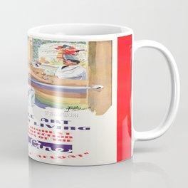 Vintage poster - French Line Cruises Coffee Mug