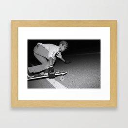 Sliding Framed Art Print