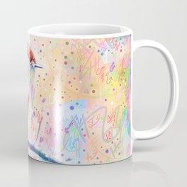 Flashy Phoebe - Black Phoebe Bird Coffee Mug