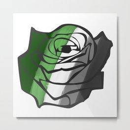 Aromantic Rose Metal Print