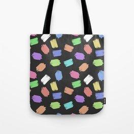 COLORFUL BRUSH  Tote Bag