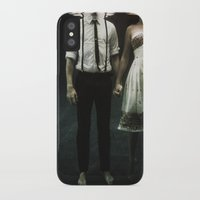 photograph iPhone & iPod Cases featuring abyss of the disheartened : IV by Heather Landis
