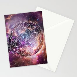 Flower of Life Sacred Geometry Stationery Cards