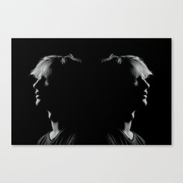 Man to Man Canvas Print