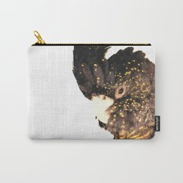 Black cockatoo illustration Carry-All Pouch