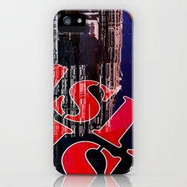 RED LISBON DESIGN iPhone Case