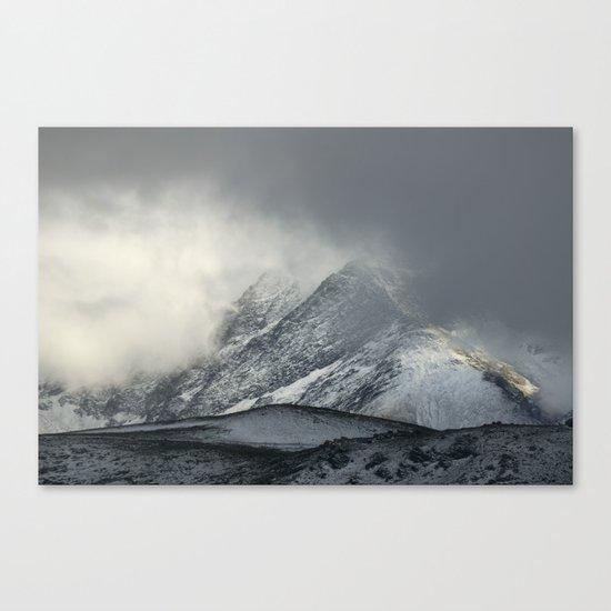 """The Mountain"" Canvas Print"