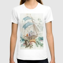 Chinoiserie Embroidery T-shirt