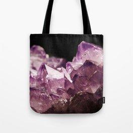 Amethyst Quartz Tote Bag