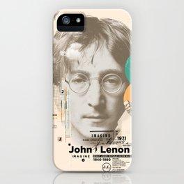 john lenon-imagine iPhone Case