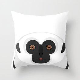 The Gibbon Throw Pillow