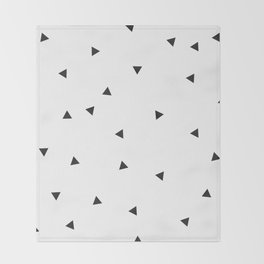 Mini triangles Throw Blanket