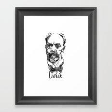 Antonin Dvorák - composer Framed Art Print