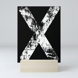 Scotland Black Flag Mini Art Print
